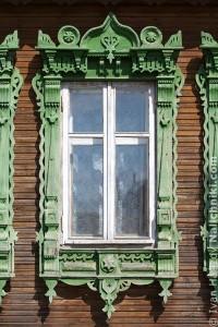 Ρωσικό παράθυρο στο Γεγκορέβσκ.