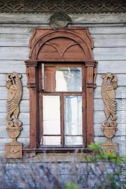 Ρωσικό σκαλιστό παράθυρο στην Κοστρόμα